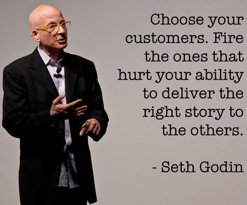 שיווק טוב מתמקדת בלקוחות טובים